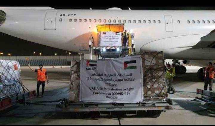 لأول مرّة | طائرة إماراتيّة في تل أبيت لمساعدة الفلسطينيين