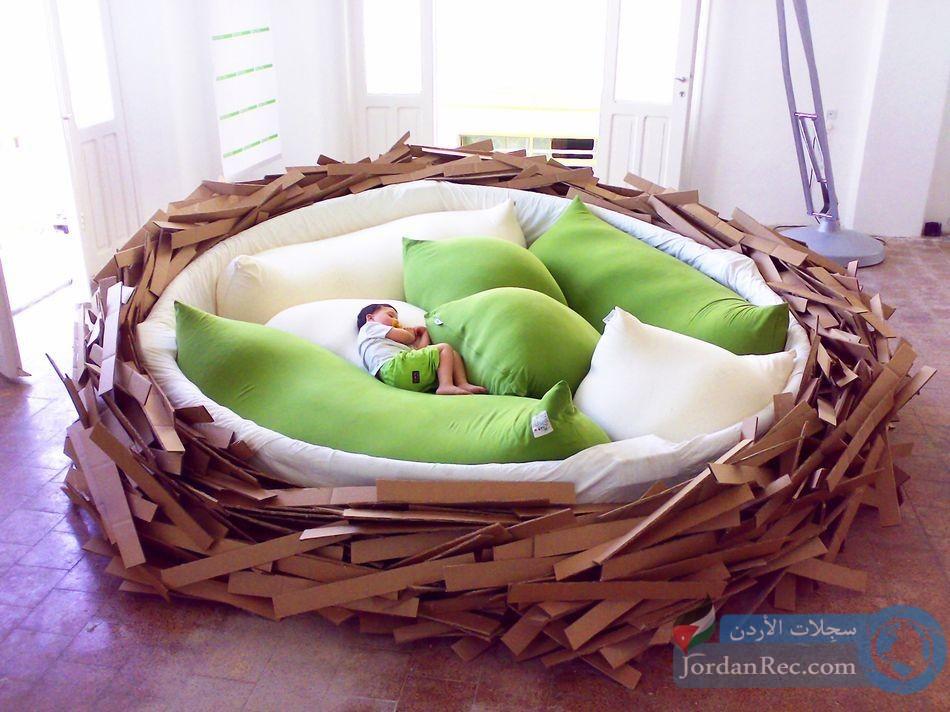 تصاميم مبتكرة لغرف النوم حول العالم