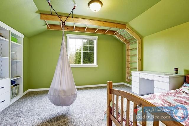 غرفة للطفل النشط