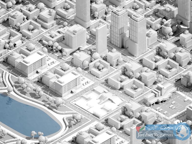 نموذج رقمي ذكي ثلاثي الأبعاد يعرض الكوارث في مدينة