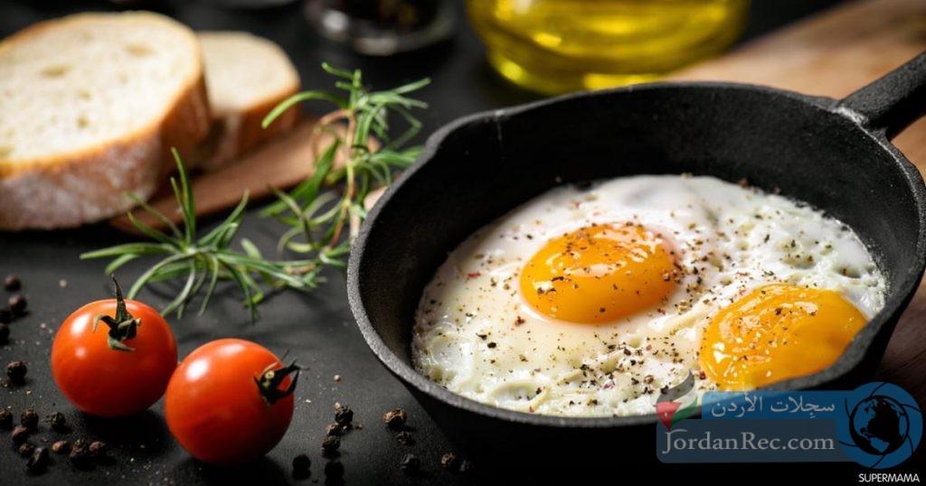 الطريقة الأفضل لطهي البيض بالحفاظ على فوائده