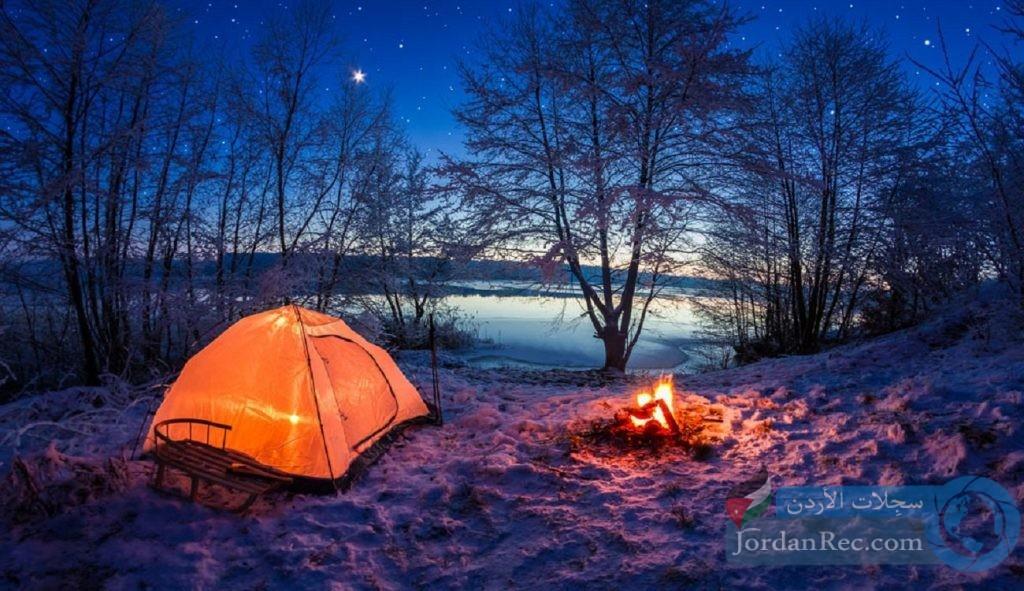نصائح وإرشادات مهمة للتخييم في الشتاء