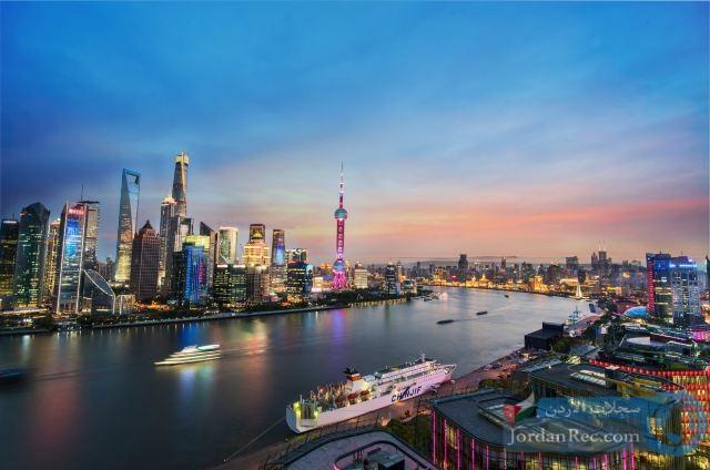البوند في شنغهاي - أفق مذهل وعمارة استعمارية