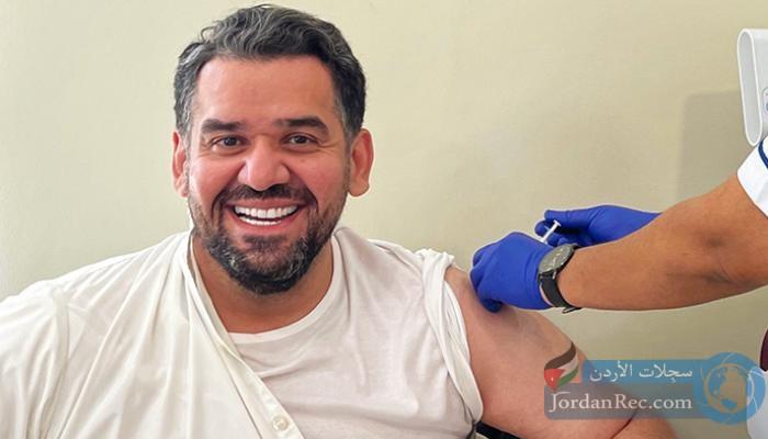 حسين الجسمي يتلقى لقاح كورونا