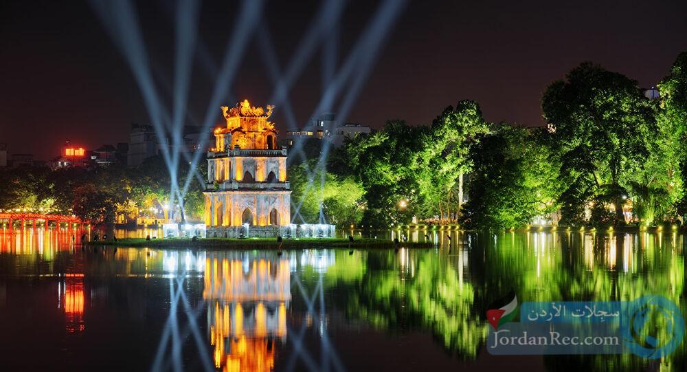انغمس في جمال بحيرة هوان كيم، هانوي