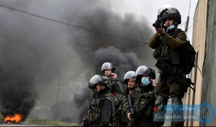 استشهاد الشاب الفلسطيني خالد برصاص الاحتلال اليوم