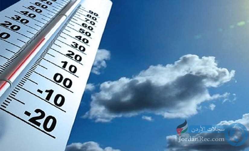 درجة الحرارة تتجاوز المعتاد الثلاثاء