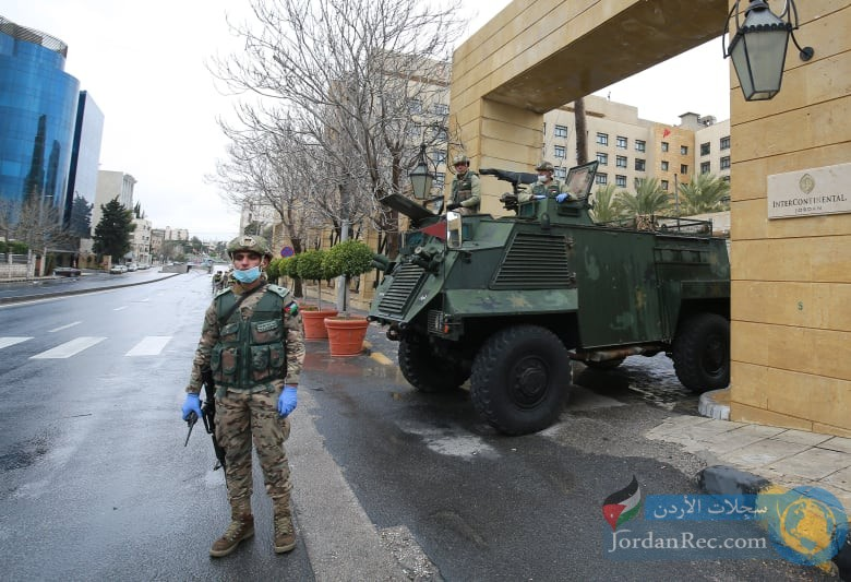 إجراء فوري من الجيش بسبب الحظر الشامل