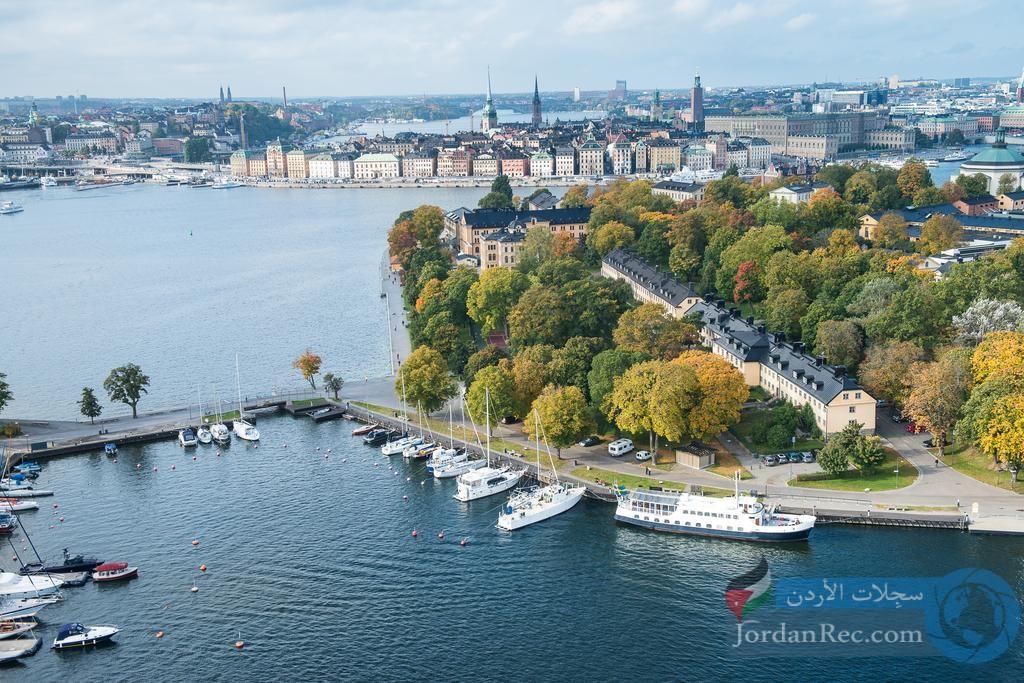 جزيرة بطبيعةغير معقولة في ستوكهولم .. تعرف عليها