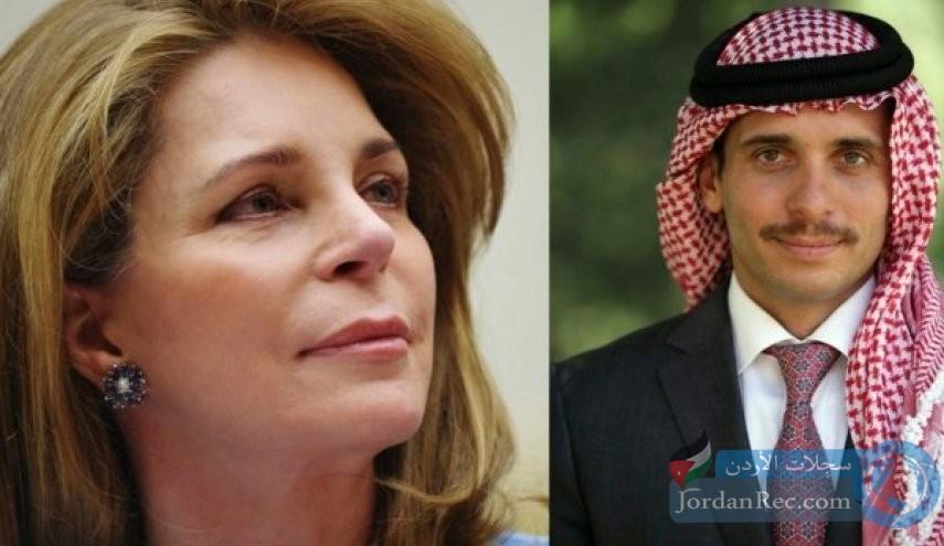 الملكة نور تخرج عن صمتها وتطالب بالعدالة لابنها الأمير حمزة بن الحسين