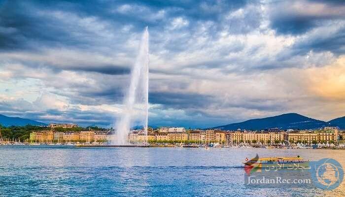 بحيرة جنيف - استمتع بالتزلج على الألواح