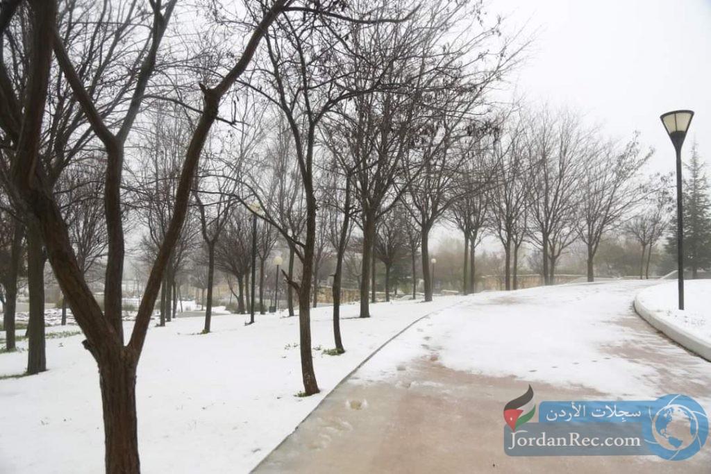 توضيح حول تساقط الثلوج اليوم في المملكة