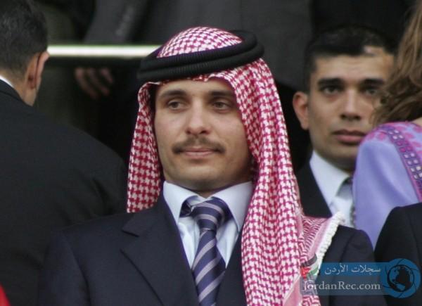 الأمير حمزة بن الحسين يوقع رسالة / نصّ الرسالة