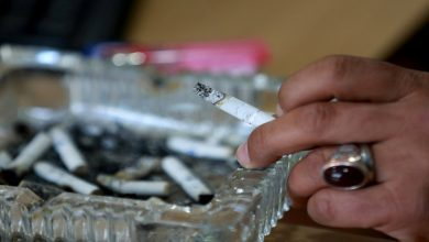 منع التدخين بجميع أشكاله وأنواعه في هذه المناطق